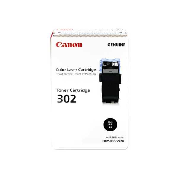 Canon 302 Black Toner Cartridge - Black