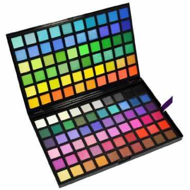 Beauties Factory 120 Color Eye Shadow Palette (3 Spectrum)