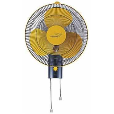 V-Guard Petal 3 Blade (400mm) Wall Fan - Yellow