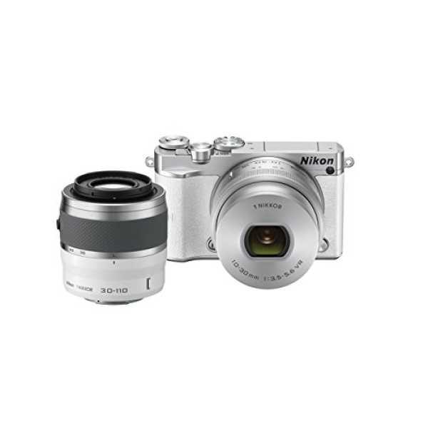 Nikon 1 J5 Mirrorless Digital Camera (With 30-110mm Lens) - White