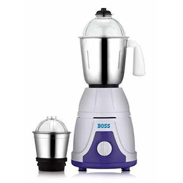 Boss Flora 550W Mixer Grinder  (2 Jars) - Purple
