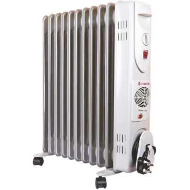 Singer SOFR 11F 2900W Oil Filled Radiator Room Heater - White
