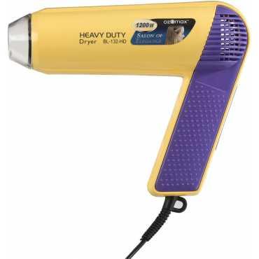 Ozomax BL-132-HD Hair Dryer - White | Yellow