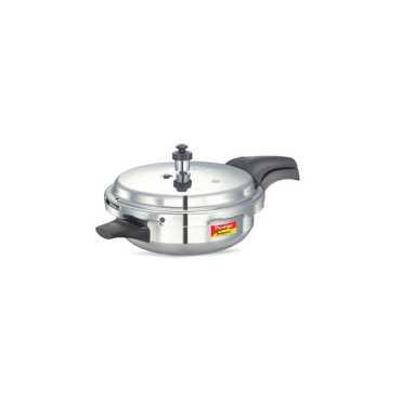 Prestige Deluxe Plus Junior Deep Pan 3.1 L Pressure Cooker (Induction Bottom, Outer Lid)