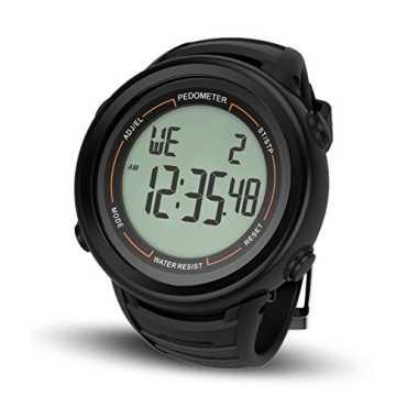 Health Sense PD-102 Smart 3D Watch Pedometer - Black