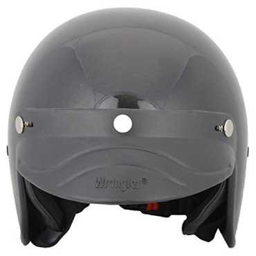 Wrangler Sopy Half Face Helmet (Medium) - Black