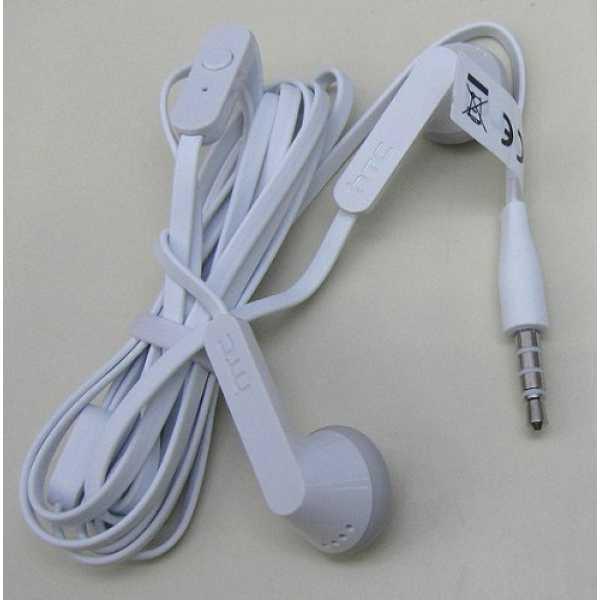HTC 39H00004-02M (3.5mm) Headset - White