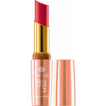 Lakme 9 to 5 Crease-less Lipstick CR1 Flaming Function