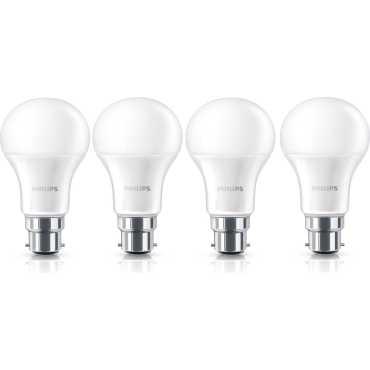 Philips Steller Bright 12 W White LED Bulb Pack of 4