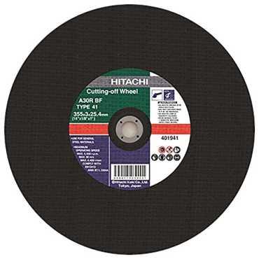 Hitachi 702170 Cut-Off Wheel - Black