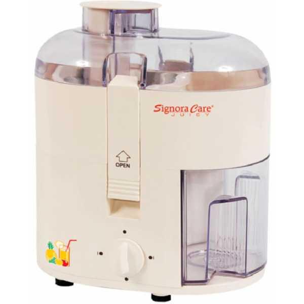 Signoracare Juicy SCJ-405 350W Juicer Mixer Grinder - White