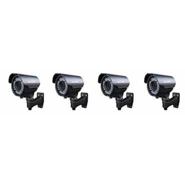Vicom VES1030 HD Varifocal Box Camera (Pack Of 4) - Black